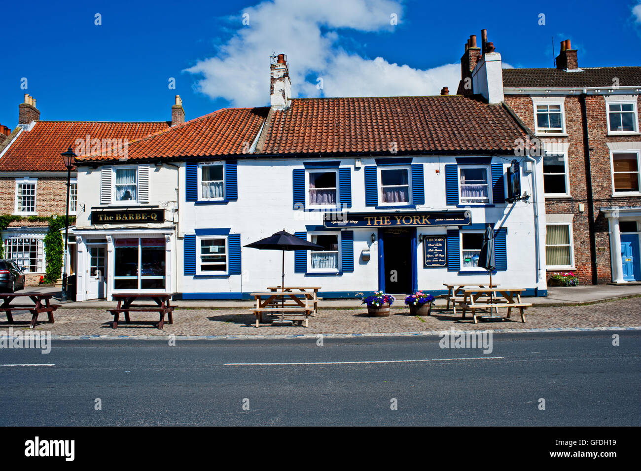 The York Pub, Easingwold, Yorkshire - Stock Image