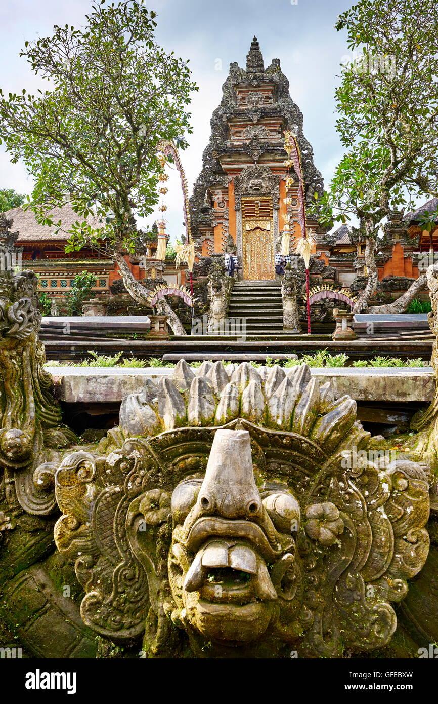 Pura Saraswati Temple, Bali, Indonesia - Stock Image