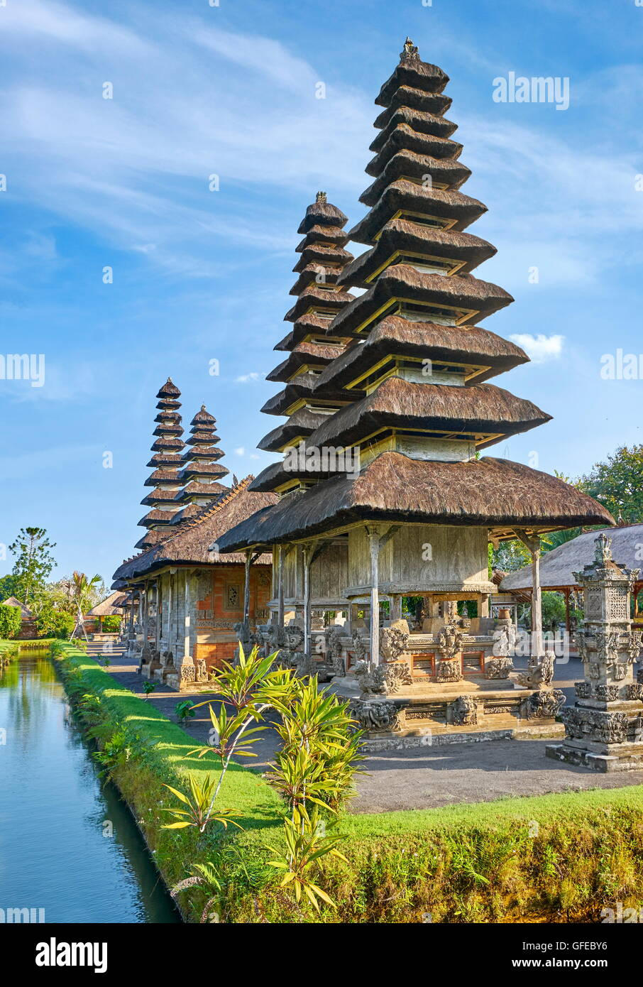 Royal Temple of Mengwi, Pura Taman Ayun, Bali, Indonesia - Stock Image