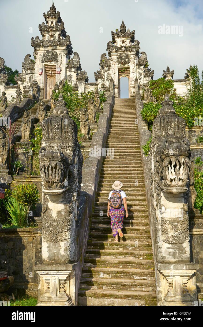 Pura Penataran Lempuyang Temple, Bali, Indonesia - Stock Image