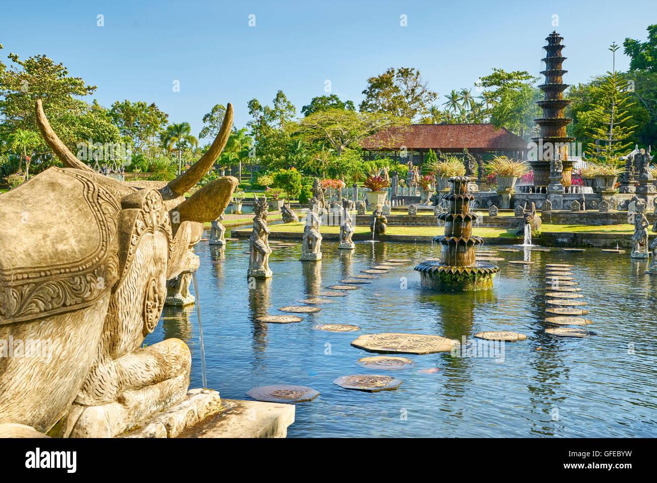 The Water Palace Tirta Gangga, Bali, Indonesia - Stock Image