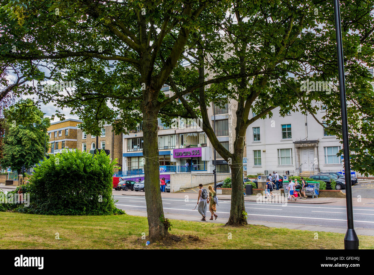 we are 336, 336 Brixton Road, London – a charity providing office space to disabled organisations –  disability - Stock Image