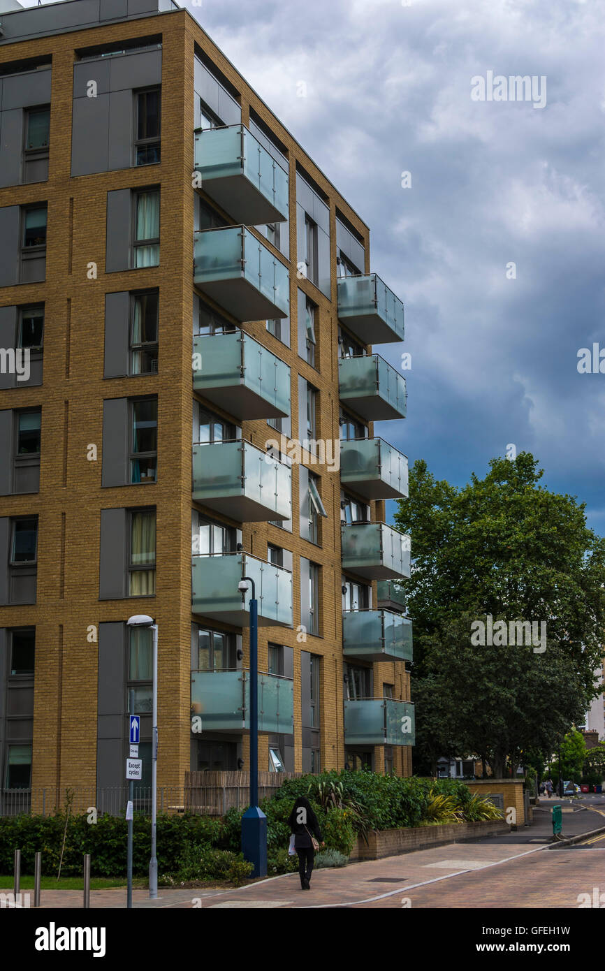 15 Robsart Street, Stockwell, London SW9 0BW - Stock Image