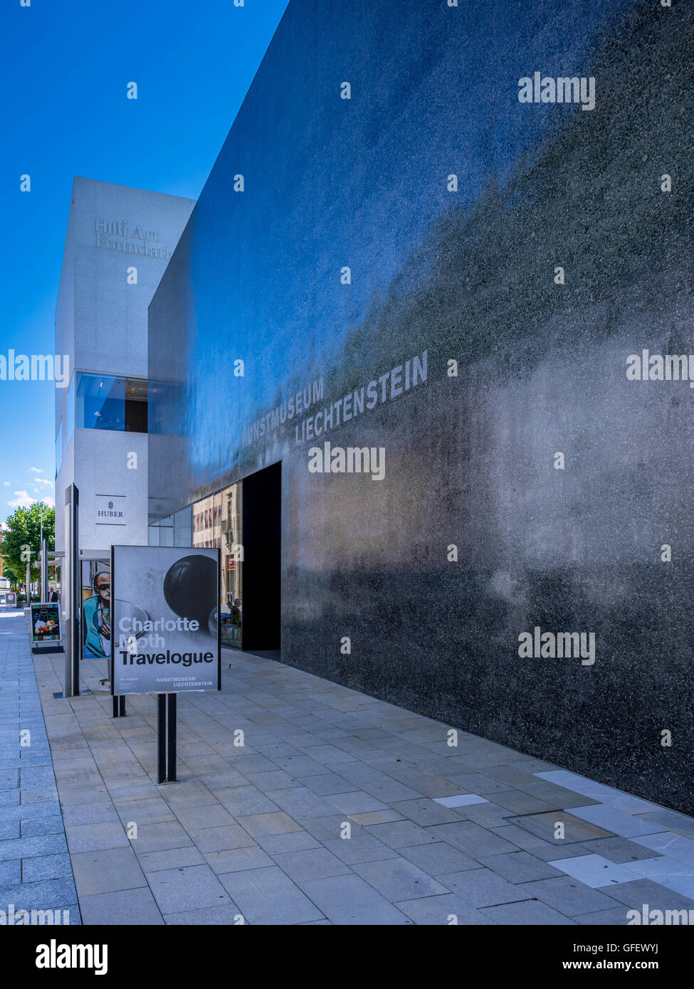 Museum of Art, Vaduz, Principality of Liechtenstein, Europe - Stock Image