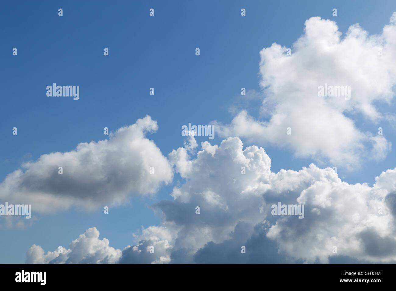 cumulonimbus cloud and blue sky #2 - Stock Image