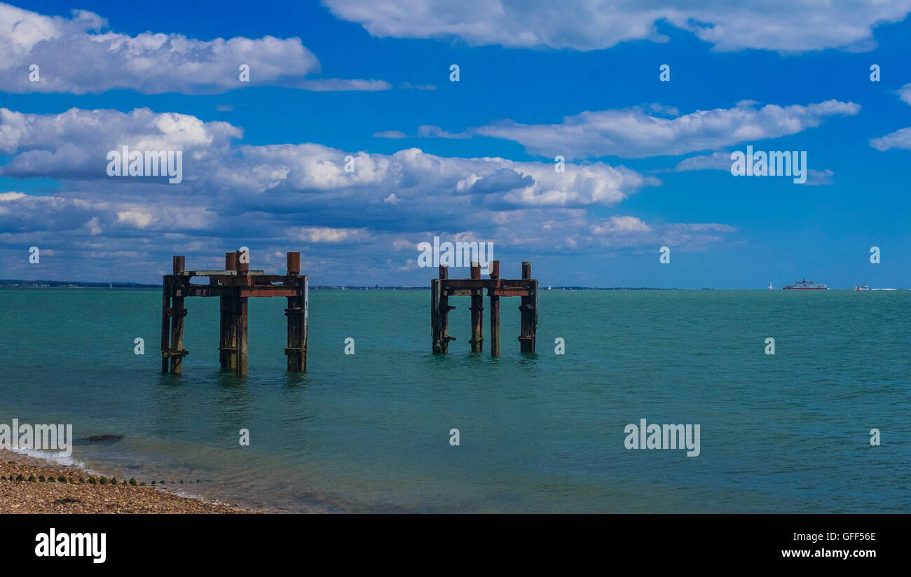 Old Jetty - Stock Image