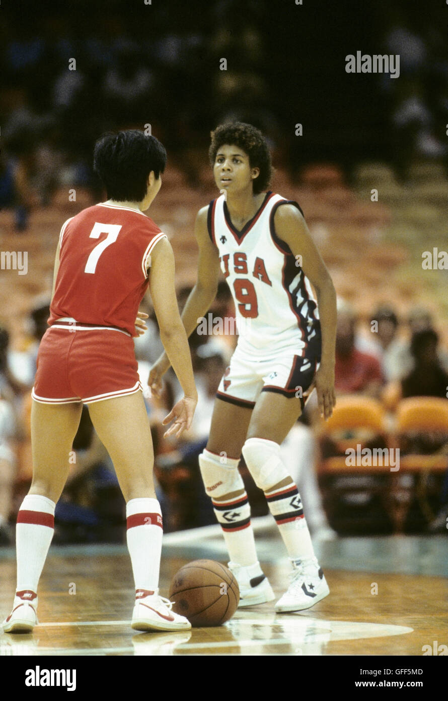 pictures Cheryl Miller, Olympic champion
