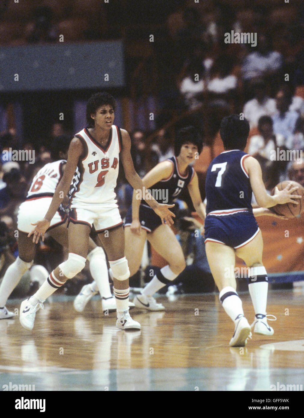 Watch Cheryl Miller, Olympic champion video