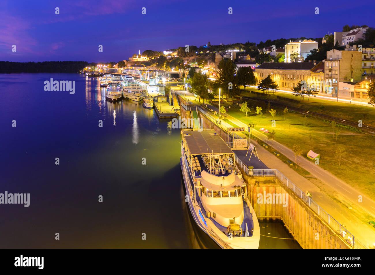 Beograd, Belgrade: Save Shore, Kalemegdan Fortress, Serbia, , - Stock Image