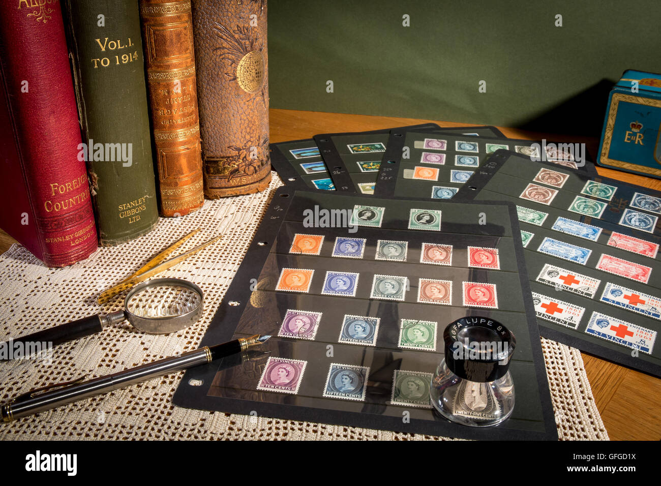 Stamp Collecting As A Pastime With Rare And Expensive Stamps High Catalogue Values