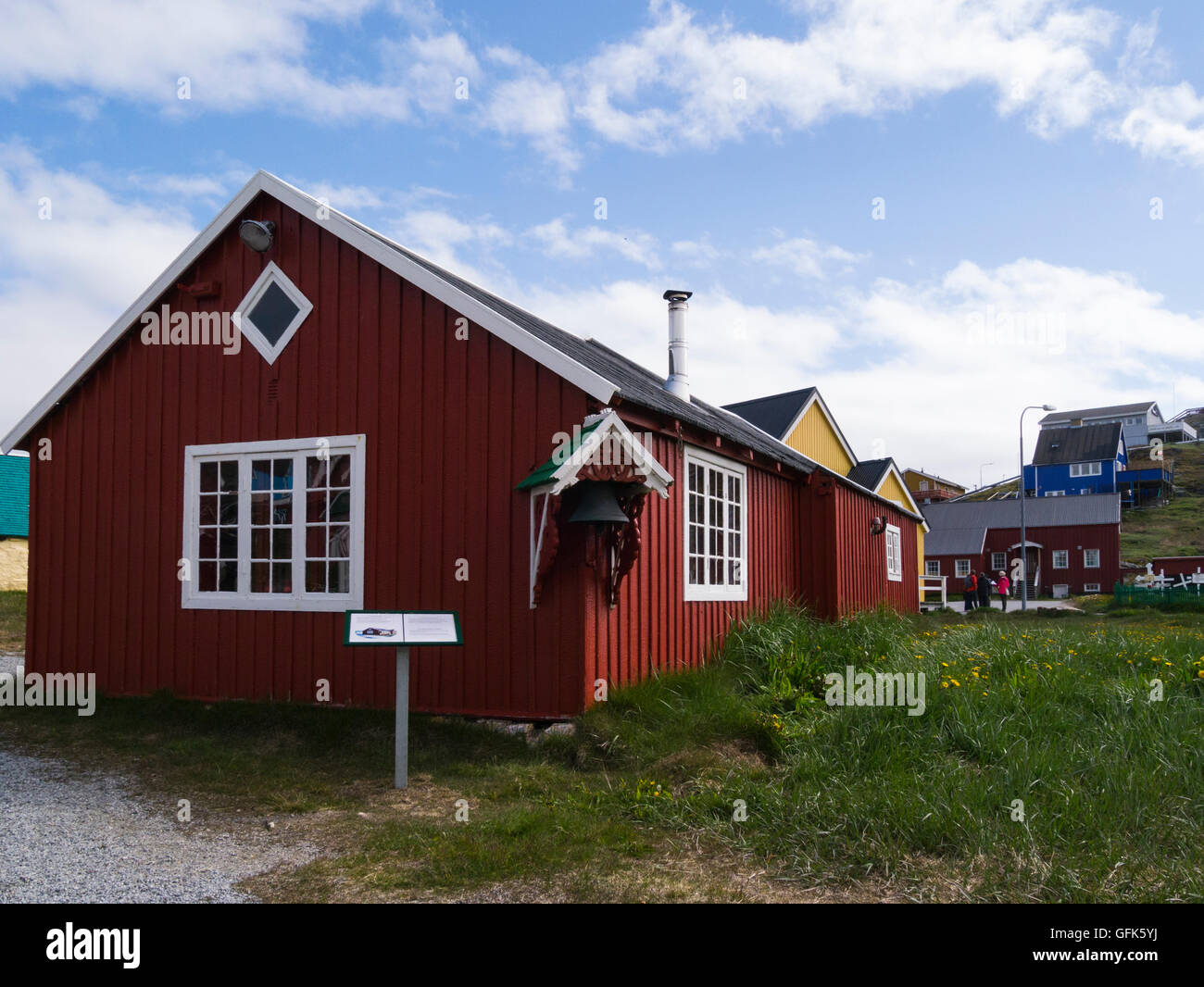 Barrel Makers Carpenters Workshop Paamiut Katersugaasivik Museum South West Greenland  in Sermersooq municipality Stock Photo
