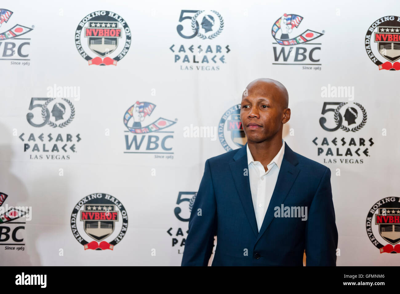 Las Vegas, Nevada, USA. 30th July, 2016. Zab Judah on the red carpet at the 4th Annual Nevada Boxing Hall of Fame - Stock Image