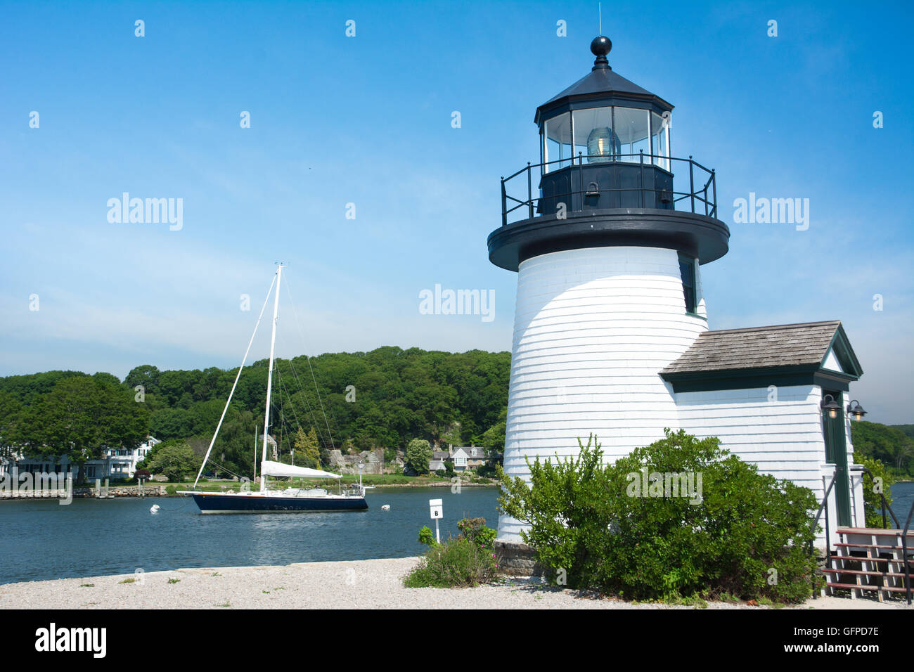 Mystic Seaport Light Lighthouse At The Mystic Seaport, Mystic, Connecticut,  ,USA
