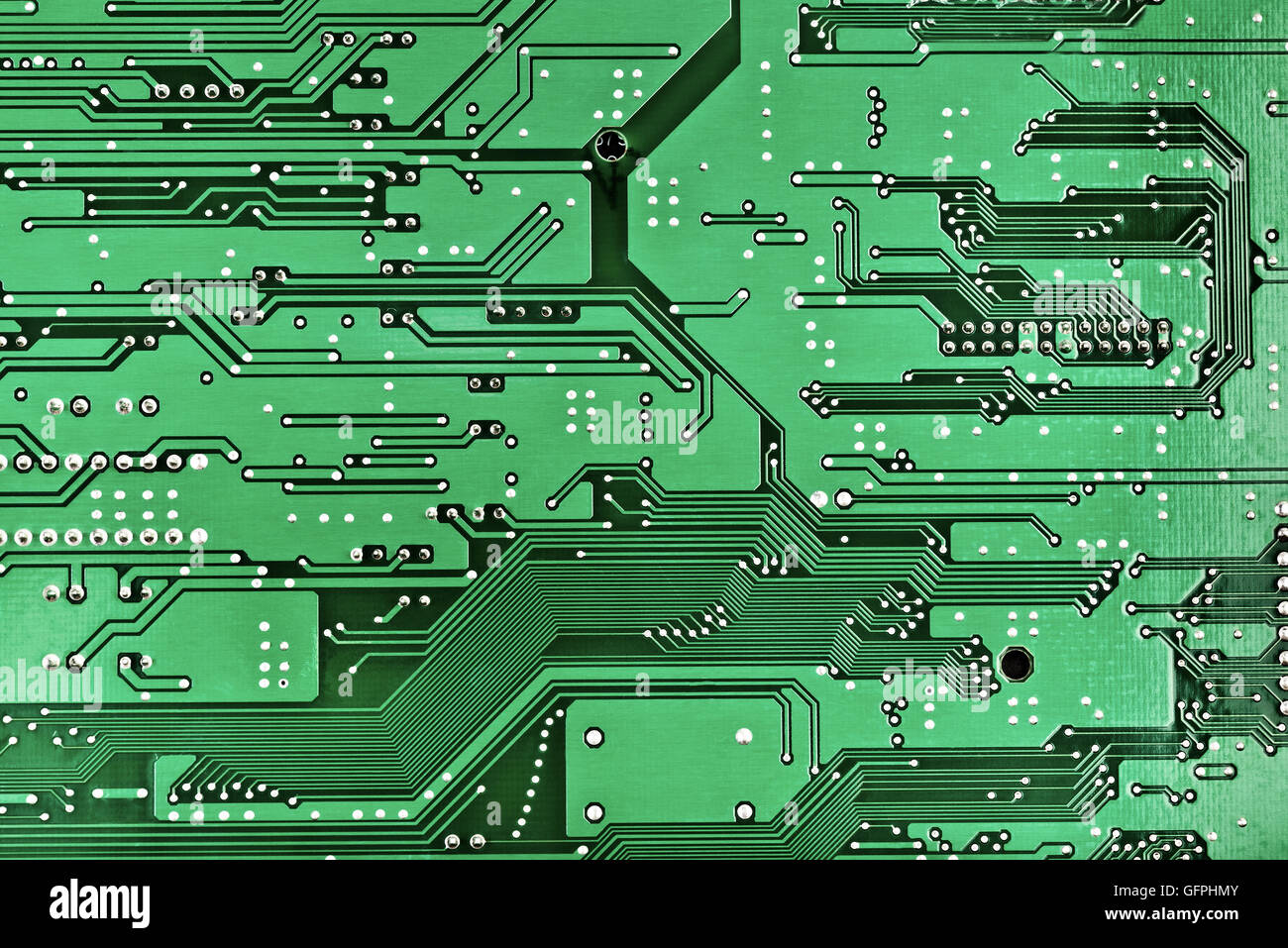 Printed Circuit Board For Design   Stock Image