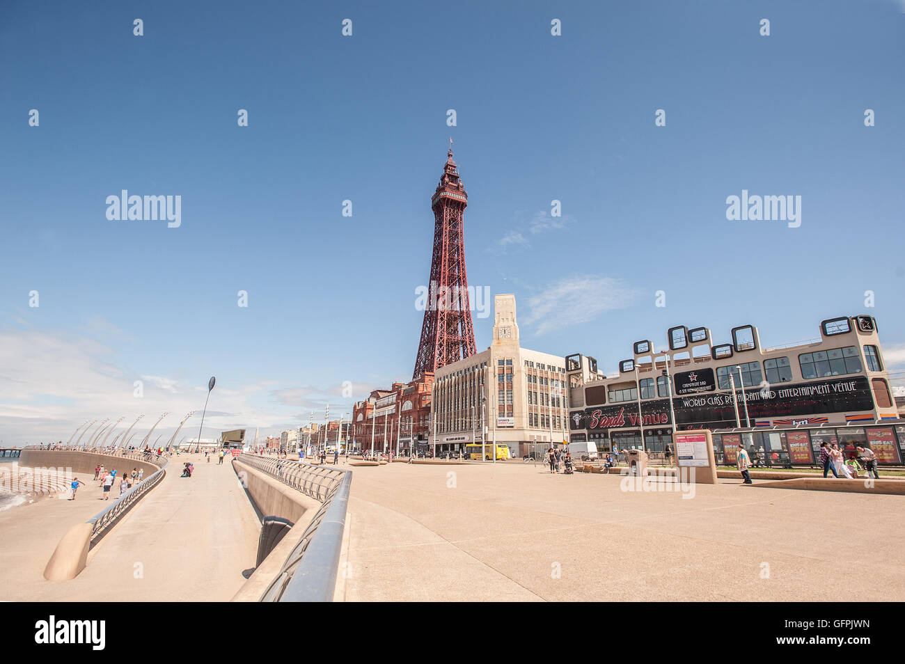 Blackpool Tower - Stock Image