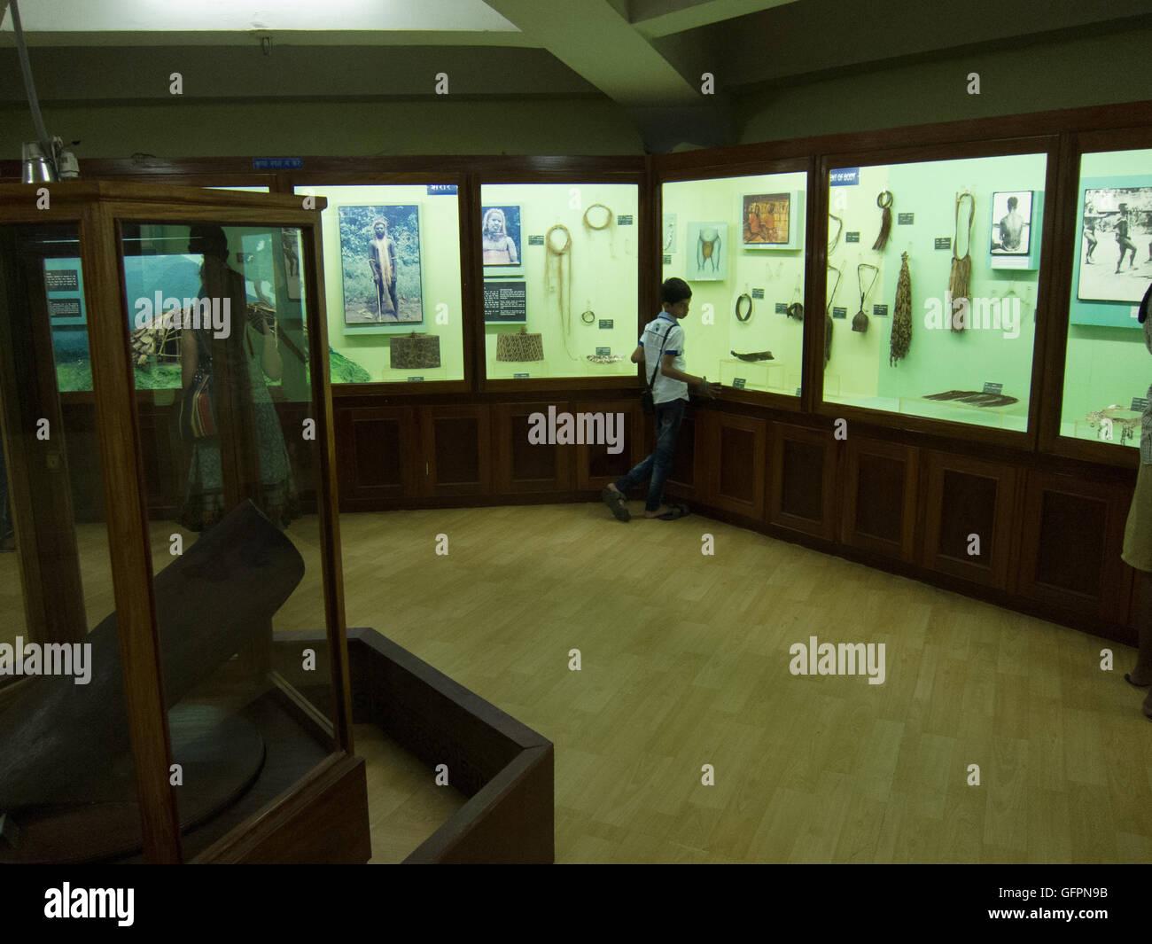 Anthropological Museum at Port Blair (Andaman, India) - Stock Image