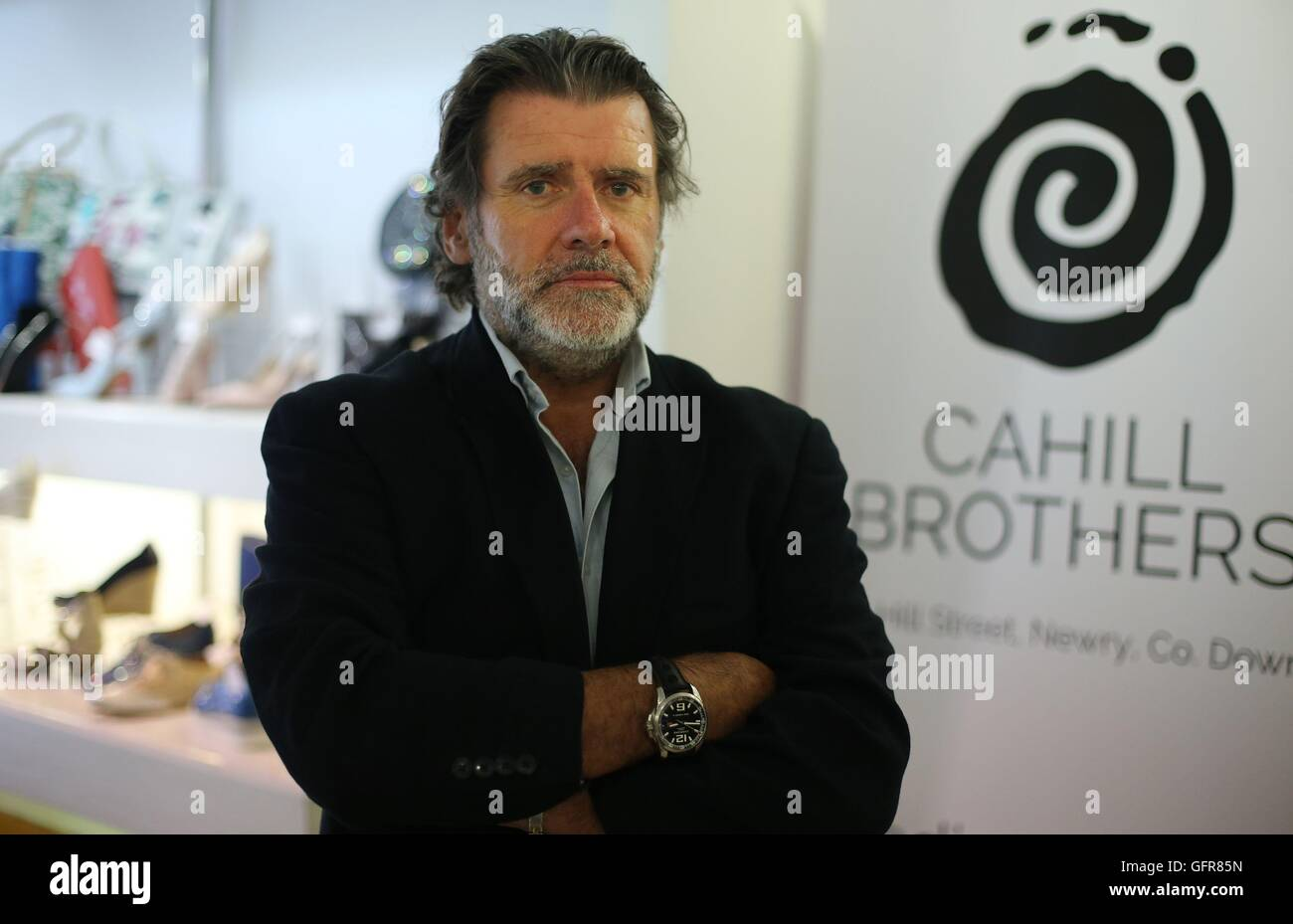 Declan McChesney, owner of Cahill Brothers' shoe shop in Newry