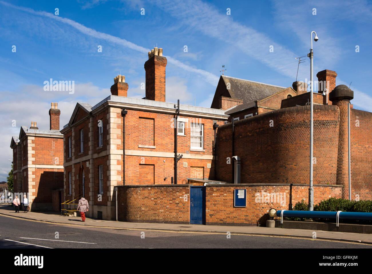 UK, England, Bedfordshire, Bedford, Bromham Road, HM Prison - Stock Image
