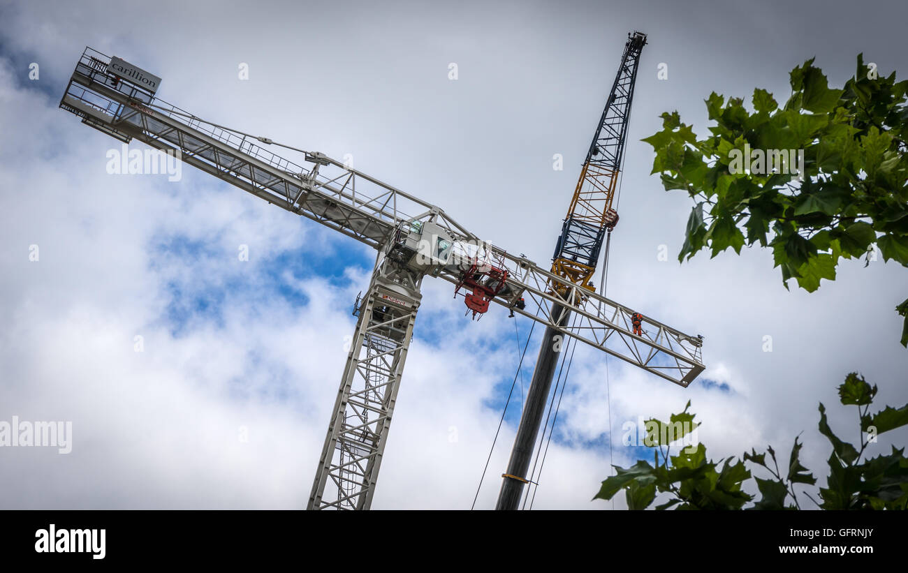 London Redevelopment - Stock Image