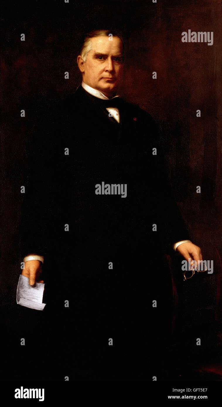 Harriet Anderson Stubbs Murphy - William McKinley - Stock Image