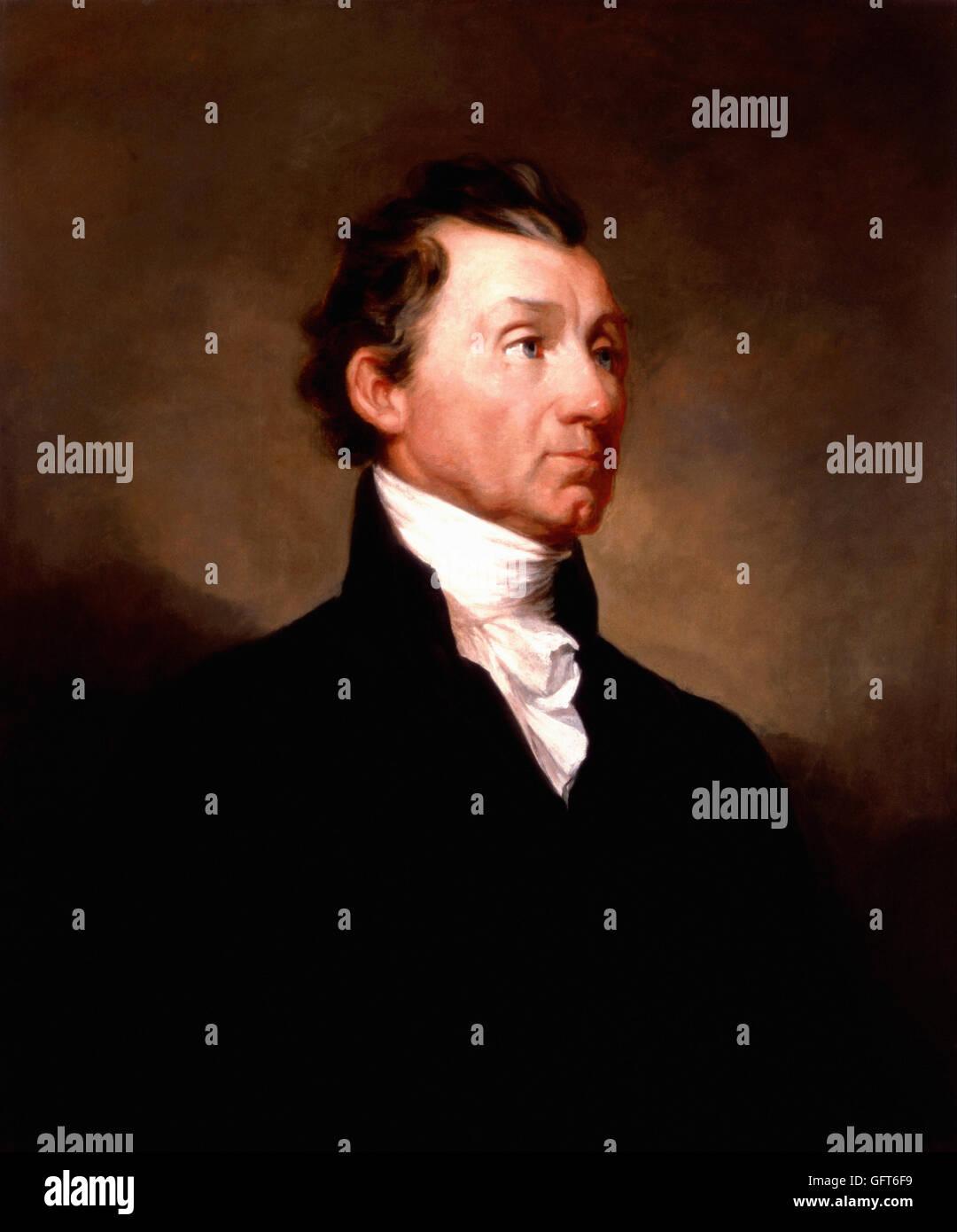 Samuel F. B. Morse - James Monroe - Stock Image
