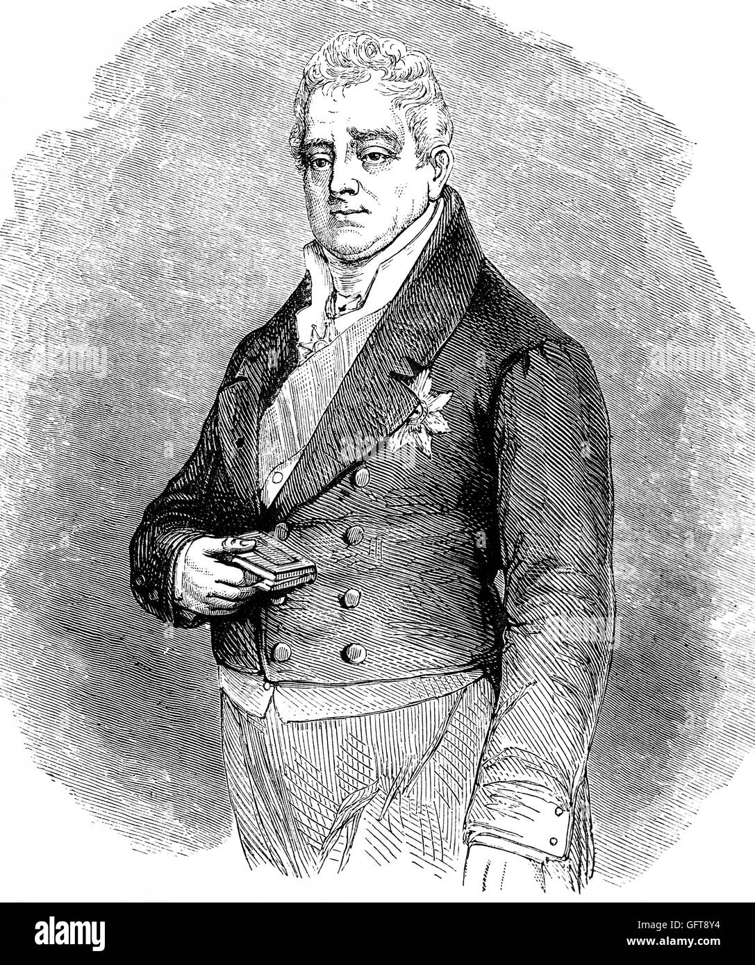 William IV (1765 – 1837) was King of the United Kingdom of Great Britain and Ireland and King of Hanover from 26 - Stock Image