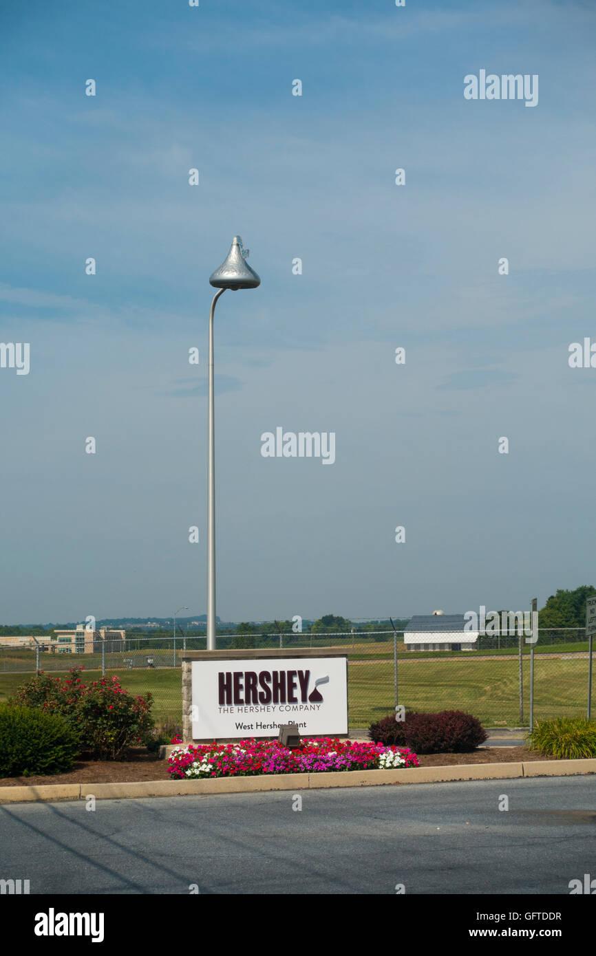 Hershey Pennsylvania - Stock Image