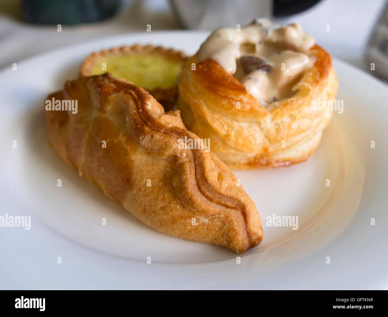 Savoury pastries - Stock Image