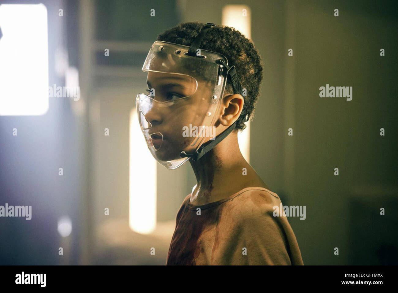 The Girl with All the Gifts is an upcoming British post-apocalyptic sci-fi horror thriller film directed by Colm - Stock Image