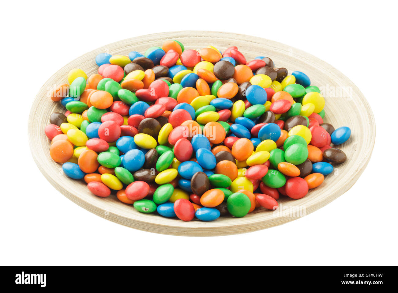 colourful sweets M & M s - Stock Image