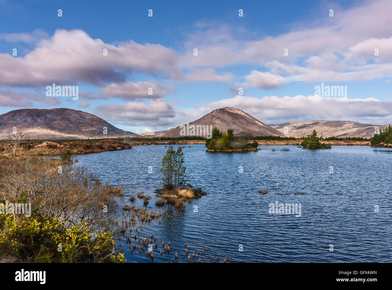 Connemara Galway Ireland - Stock Image