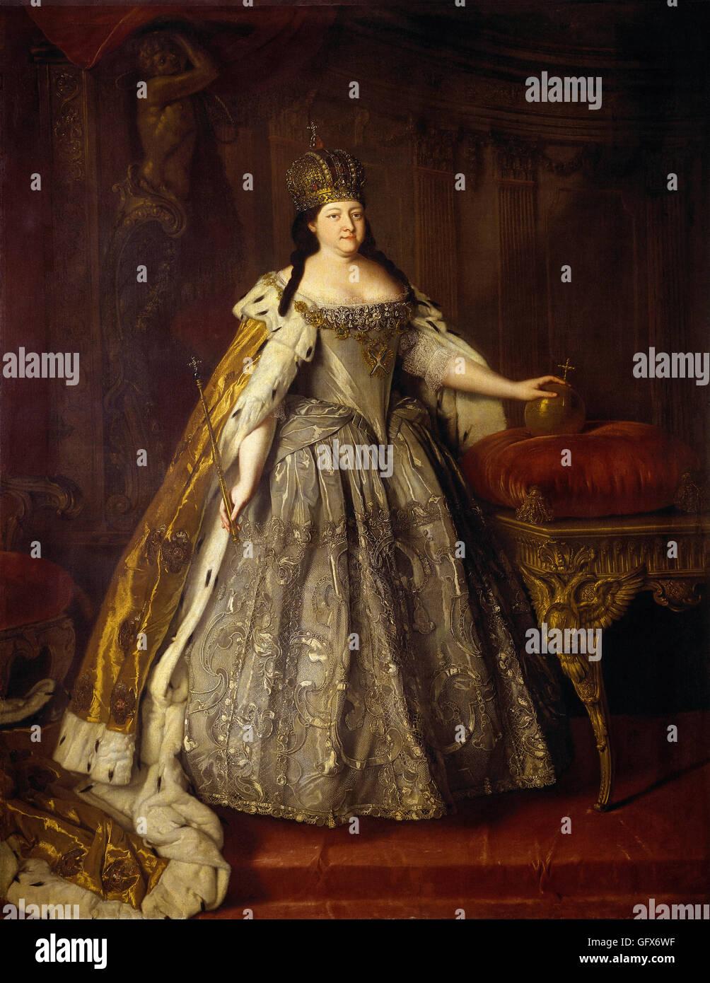 Louis Caravaque-Portrait Emperor - Stock Image