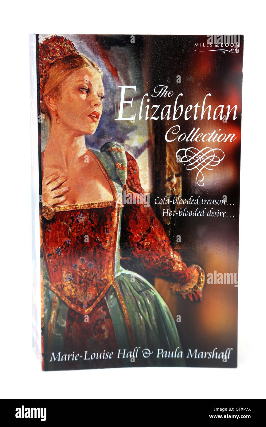 Mills & Boon Book The Elizabethan Collection - Stock Image