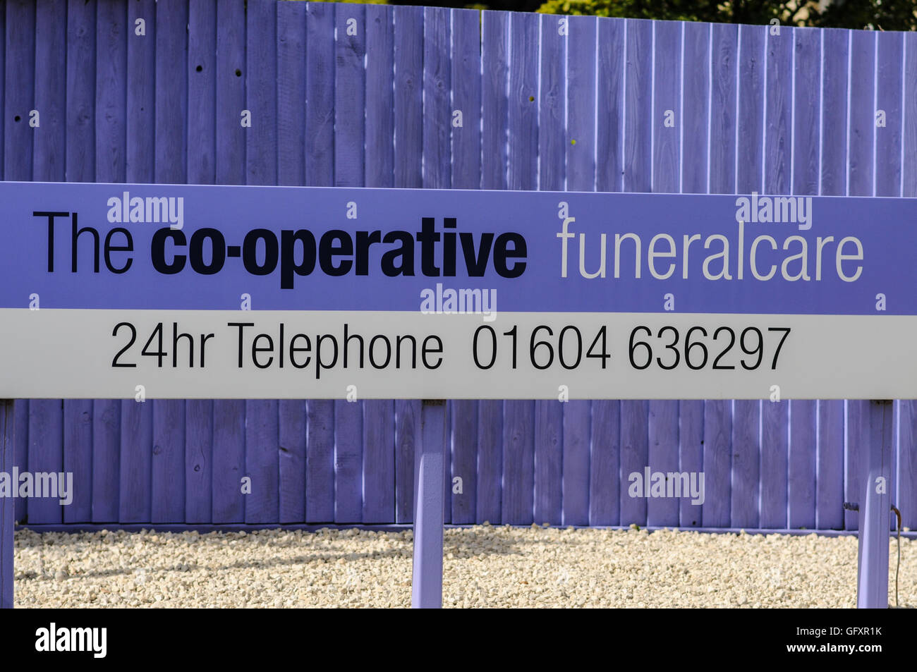 The Co-operative Funeral Care - Stock Image