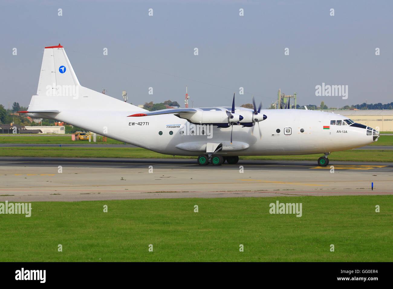 Antonov 12A - Stock Image