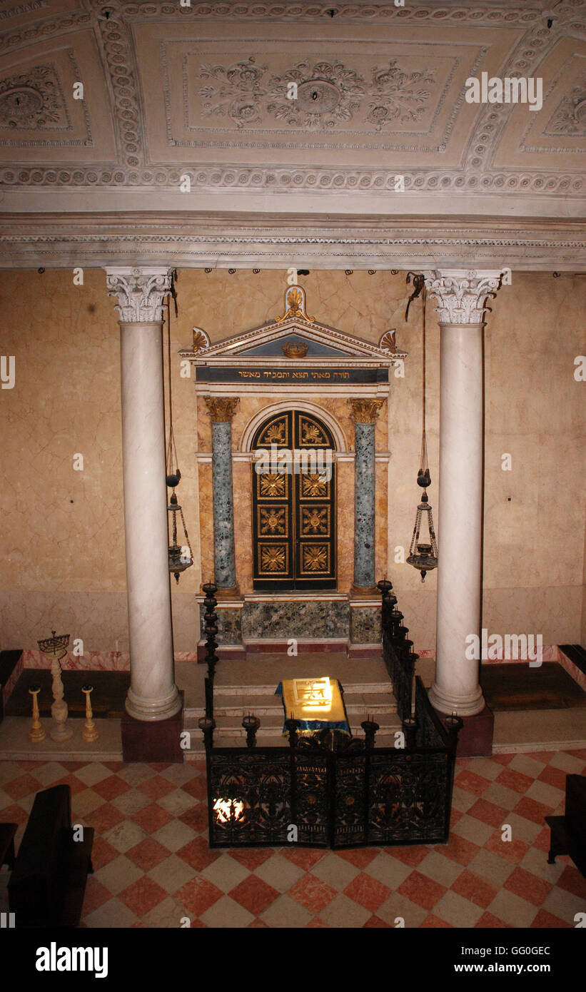 5622.Sobionetta synagogue, Italy. Built in 1824 - Stock Image