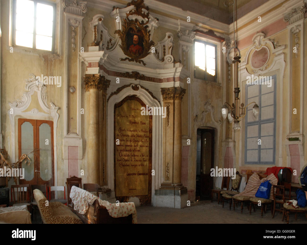 5623. Rivarolo synagogue, Iitaly - Stock Image
