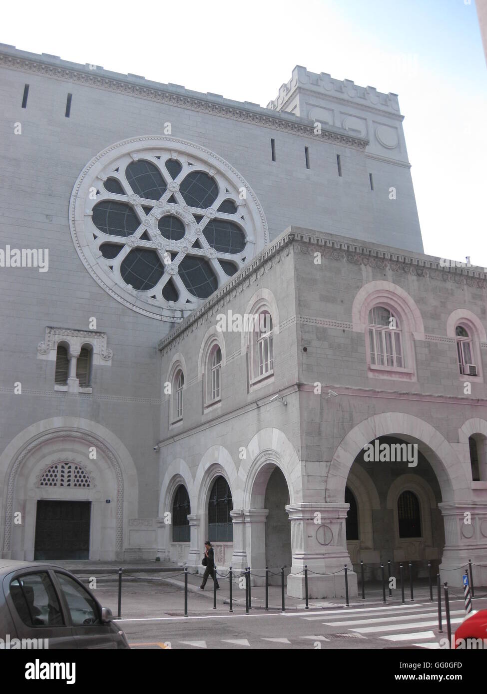 5635.Trieste synagogue - Stock Image