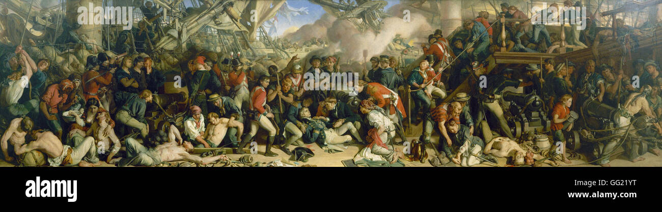 Daniel Maclise - The Death of Nelson - Stock Image