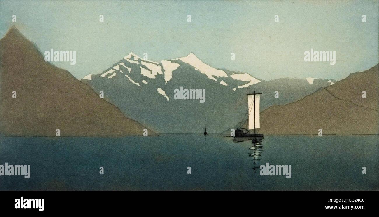 John Taylor Arms - On Lake Como, Number Two - Stock Image