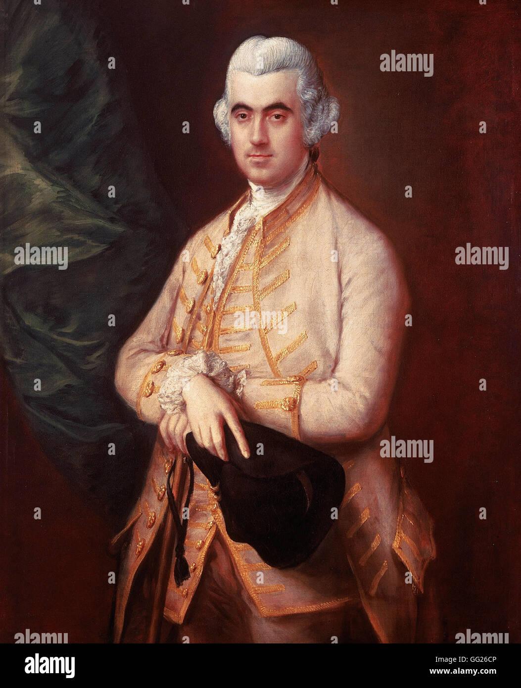 Thomas Gainsborough - Sir Robert Clayton - Stock Image