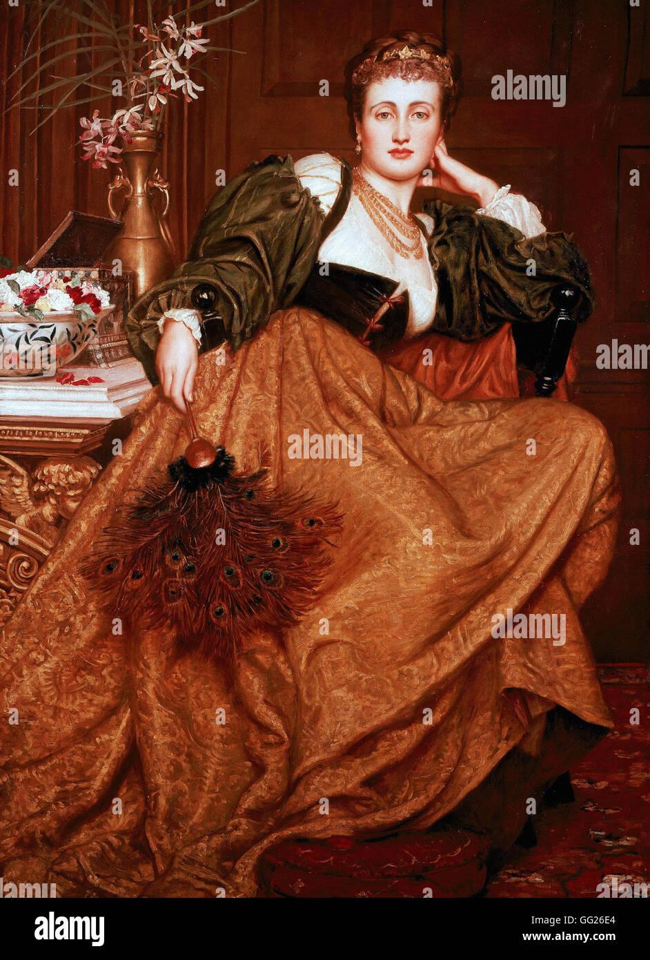 Valentine Cameron Prinsep - Leonora of Mantua - Stock Image