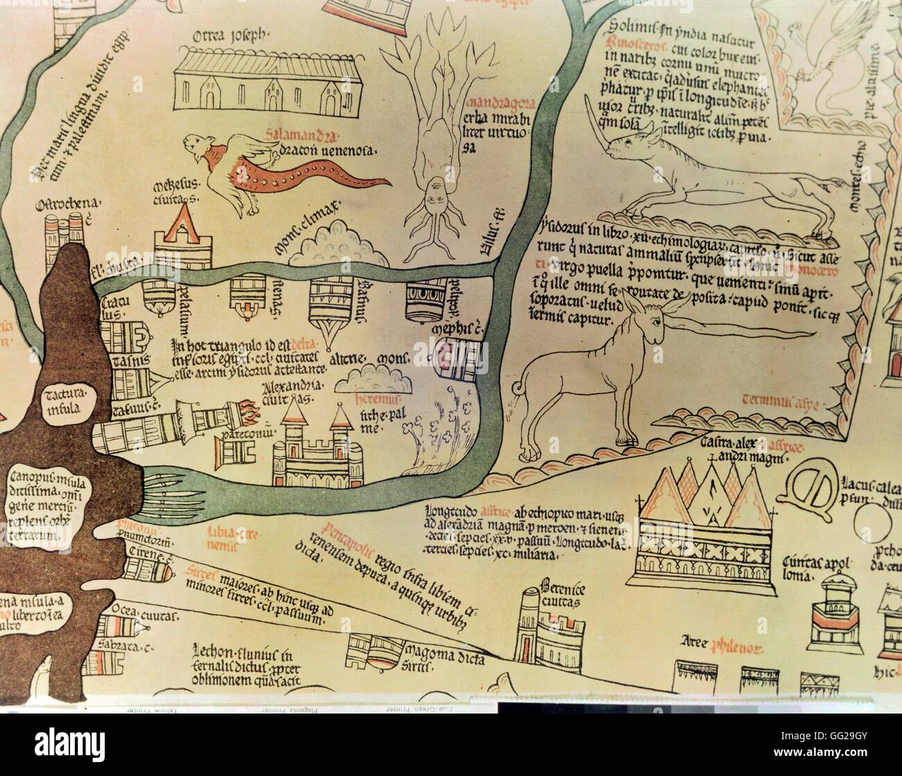 The Hereford Map Stock Photos The Hereford Map Stock Images Alamy