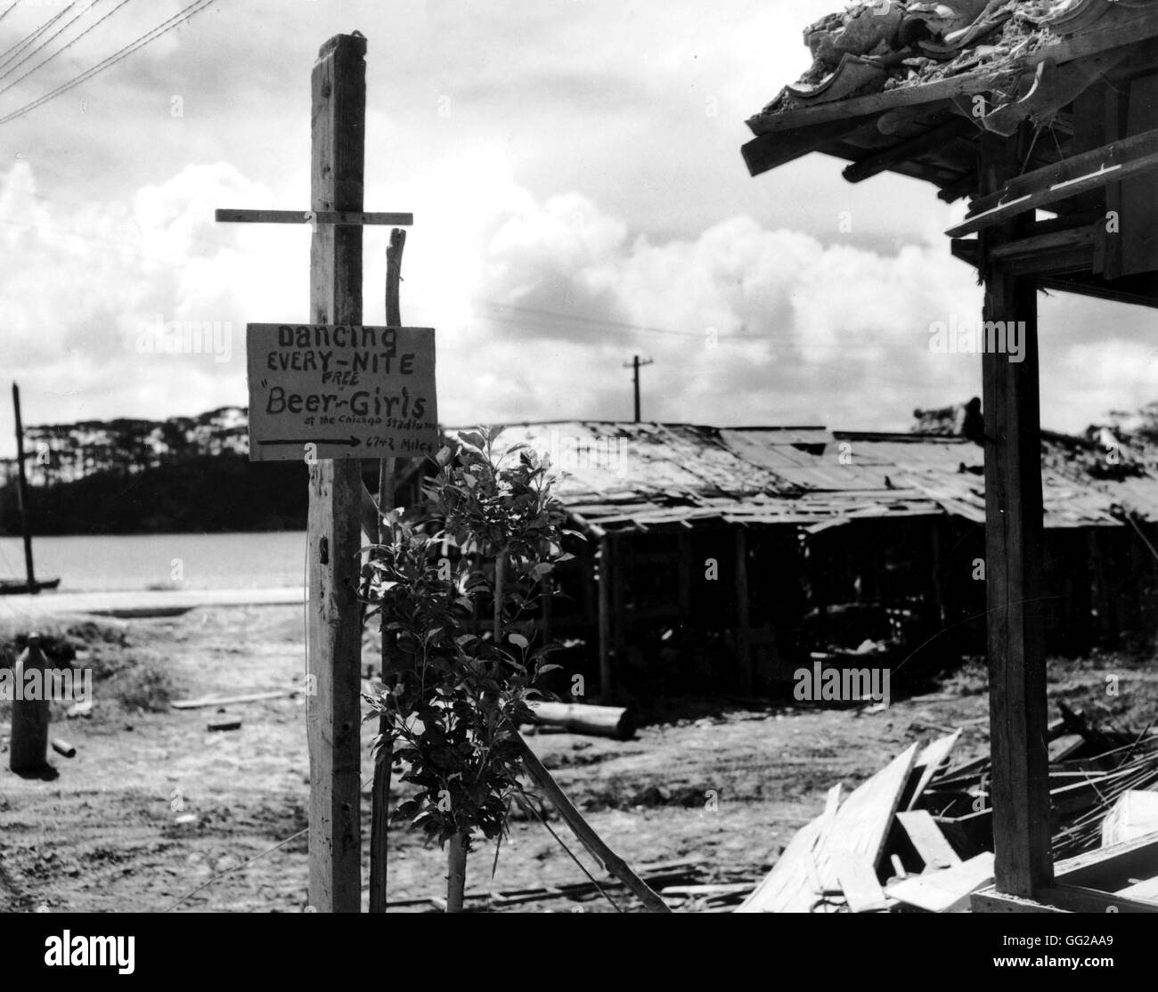 Pacific War Stock Photos and Images