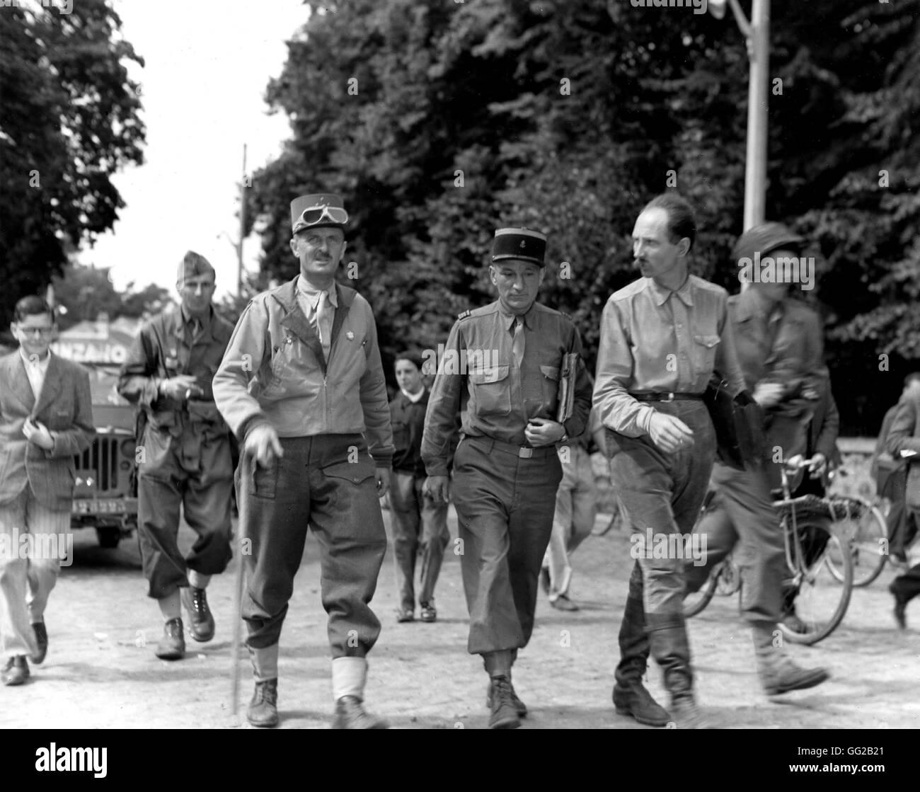 Leclerc 1944 paris stock photos leclerc 1944 paris stock - French div 2 ...