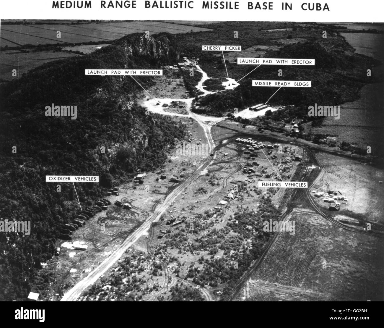 cuban missiles crisis the missiles base 1962 1963 cuba photograph us air force