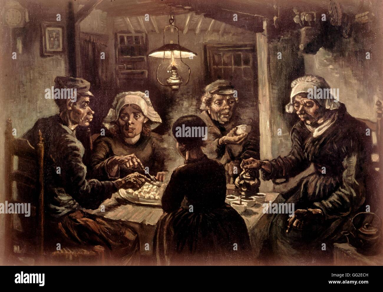 analysis of the potato eaters by Analysis of the potato eaters by vincent van gogh essay bartleby analysis of the potato eaters by vincent van gogh essay over them, on the center of the painting, .