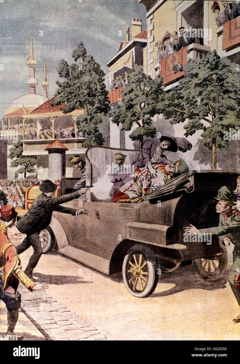 Assassination Of Austrian Archduke Franz Ferdinand In