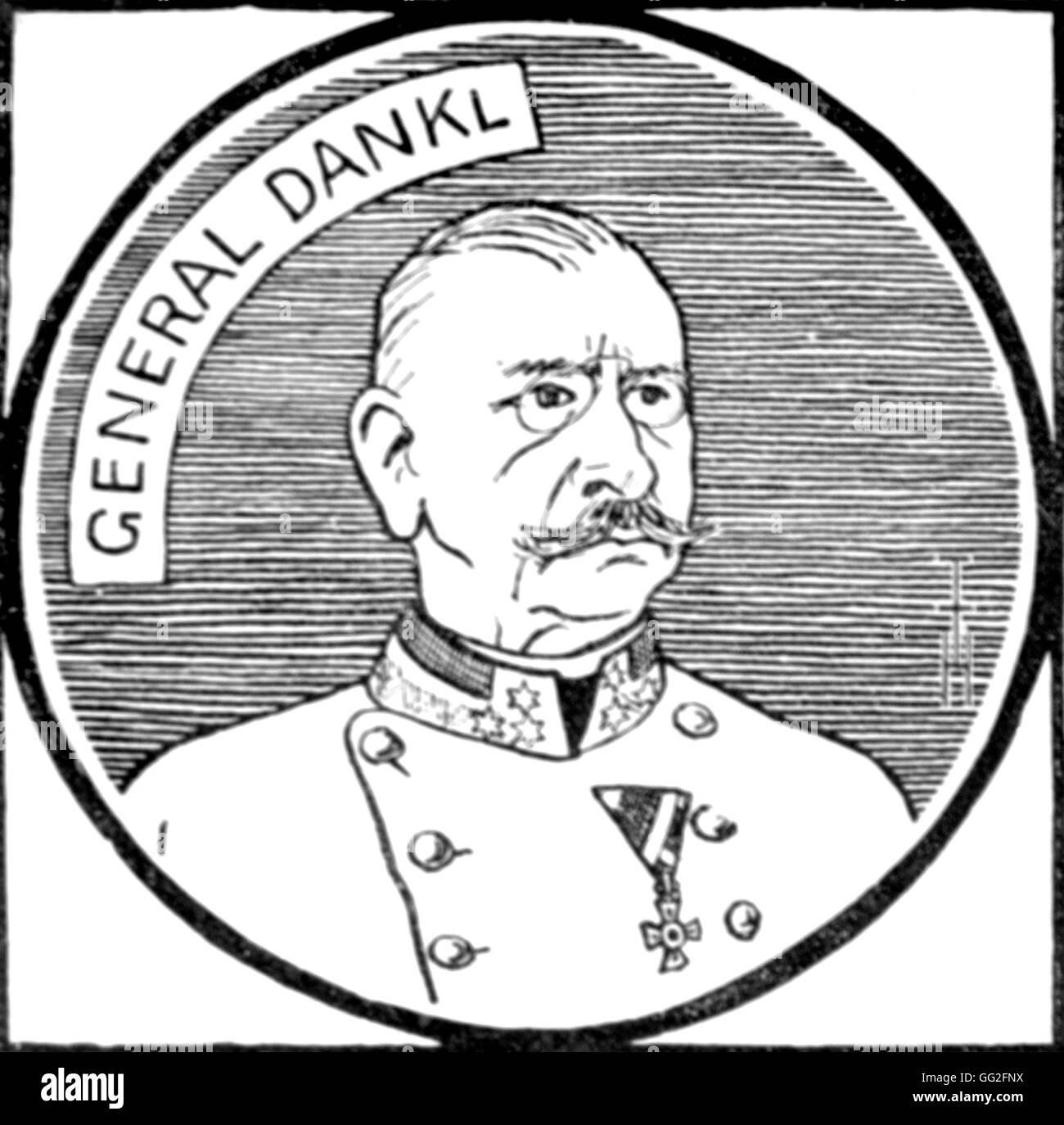 Première Guerre Mondiale. Portrait of Count Viktor Dankl von Krasnik(1854-1941), Austrian General. Stock Photo