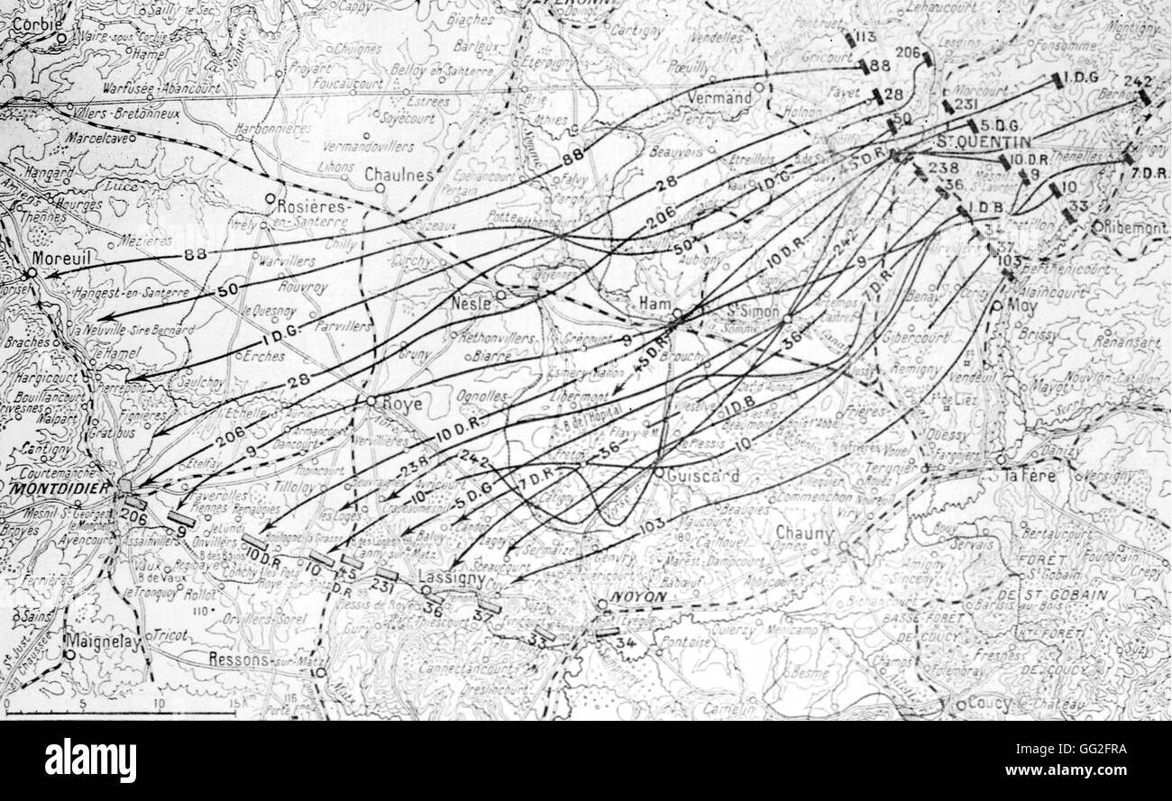 First world war map stock photos first world war map stock images first world war map of the battle of the aisne the german advance between gumiabroncs Image collections